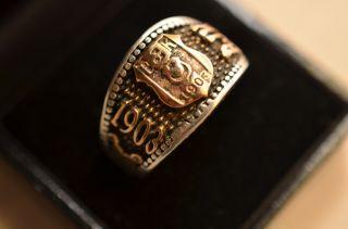 Massiver Silber 925 Türkischer Ring Bjk 1903 Bild
