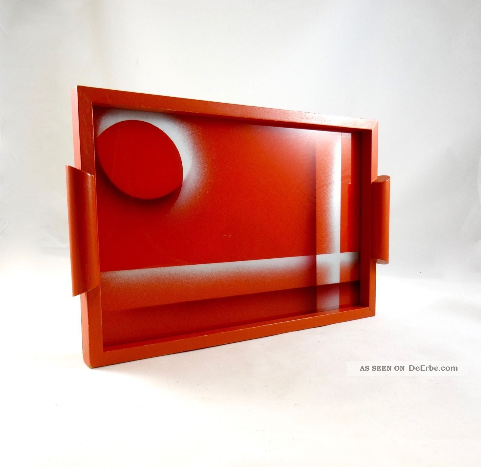 Avantgarde Suprematismus Bauhaus Tablett Geometrisch Art Deco El Lissitzky Tray 1920-1949, Art Déco Bild