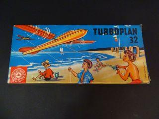 Vintage Rarität Günther Flug - Spiele Turboplan 32 Windspiel Flugzeug Barvelli Bild
