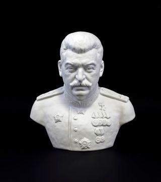 44400 Porzellan Figur Büste Stalin Sitzendorf Bild
