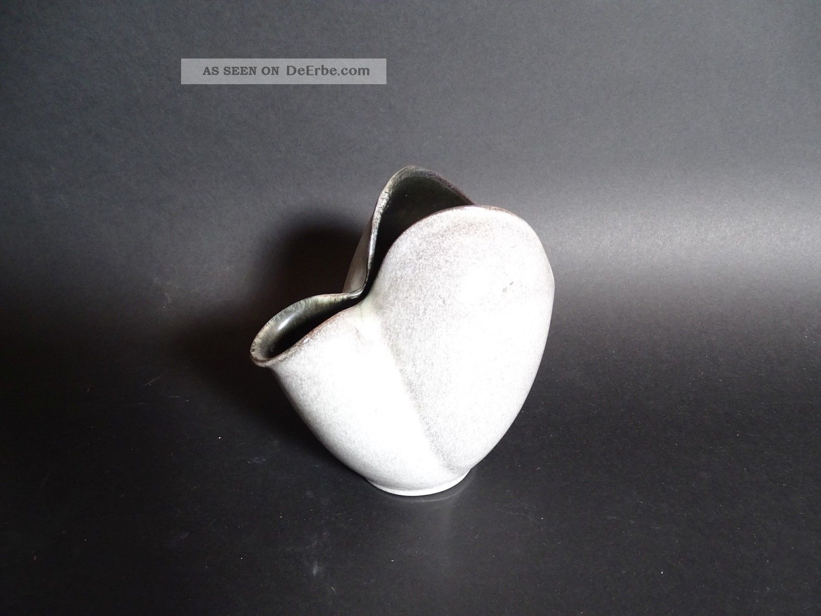 Sehr Seltene Organische Fritz Van Daalen Keramik Vase Aalen Nach Stil & Epoche Bild