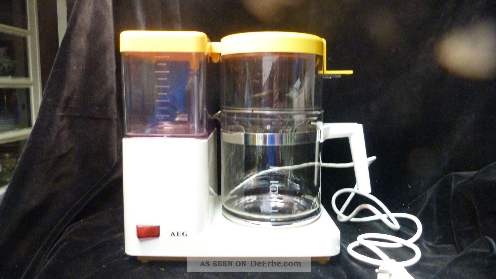 Vintage Aeg Kaffeeautomat Kf 1300 - 70/80er Jahre - Offenbar Unbenutzt Haushalt Bild