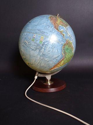 Rarität Scan - Globe A/s Dänemark Standglobus Mit Holzfuß 1 : 41849600 Bild