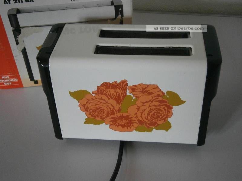 Toaster - Aeg At 211 Ba - Rosendekor - Mit Ovp Haushalt Bild