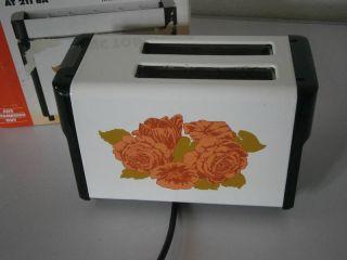 Toaster - Aeg At 211 Ba - Rosendekor - Mit Ovp Bild