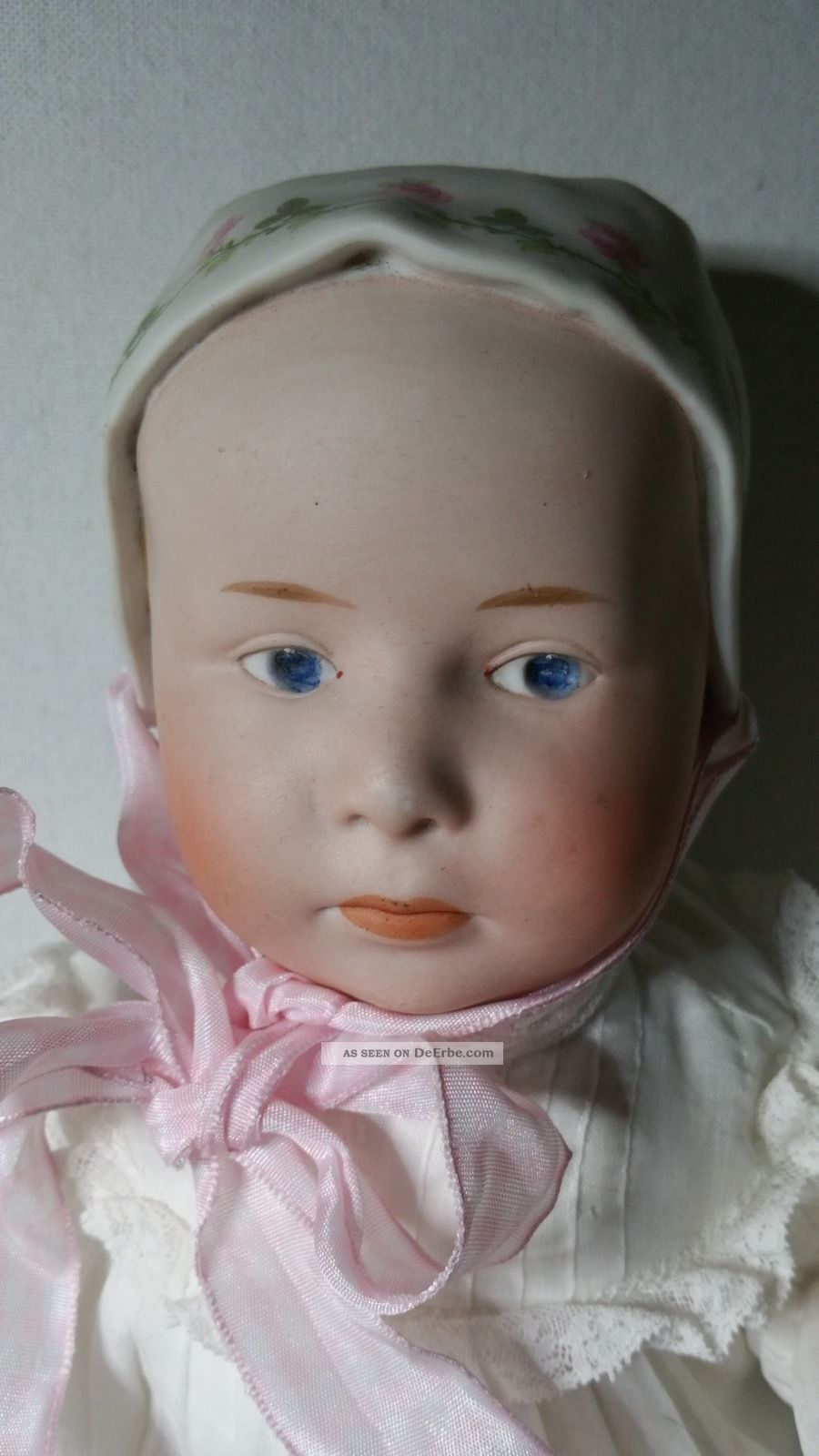 Baby Stuart Manufactur Heubach - Eine Absolute Rarität Porzellankopfpuppen Bild