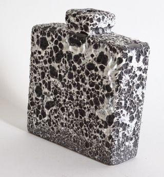Ausgefallene Fat Lava 70er Jahre Panton Ära Keramik Vase Ausgefallenes Dekor Bild