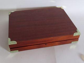Robbe & Berking Besteck Kasten Aus Hochwertigem Holz Bild