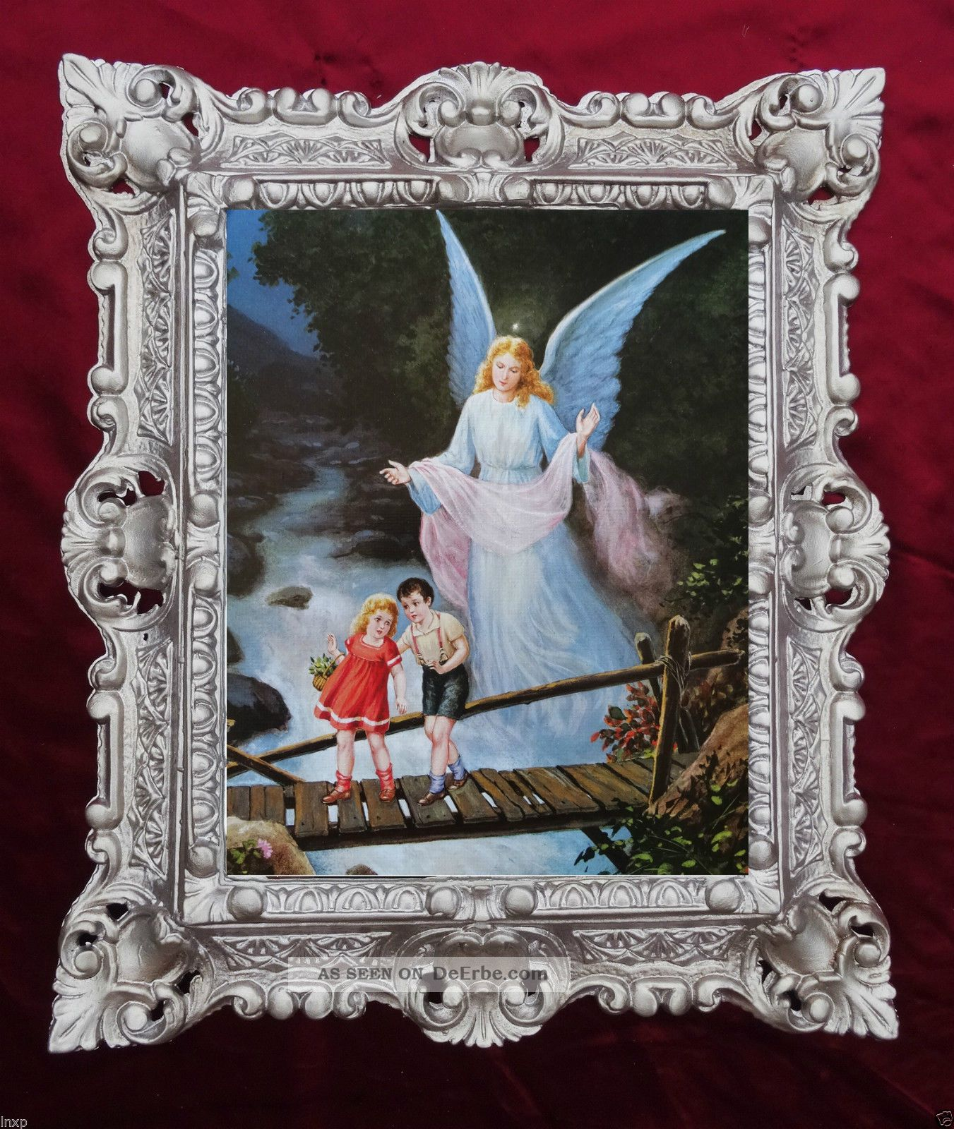 Gemälde Religiös Ikonen Bilder Antik Barock Antik Look Barock 45x38cm 24983 345b Votivbilder & Sakralmalerei Bild