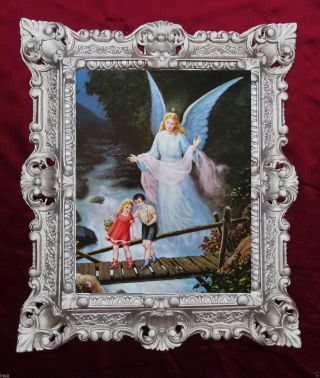 Gemälde Religiös Ikonen Bilder Antik Barock Antik Look Barock 45x38cm 24983 345b Bild