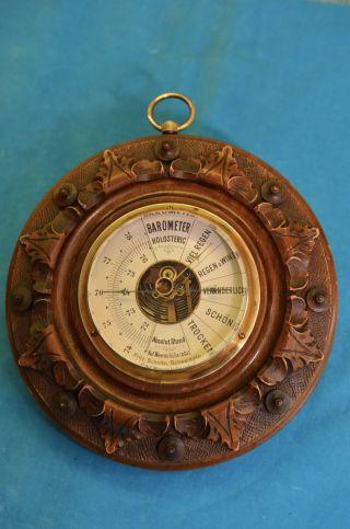 Altes Art Deco Barometer Um 1920/1930 Bild