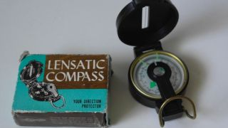 Vintage Engineer Lensatic Compass Mod 0322 Japan 60`s Bild