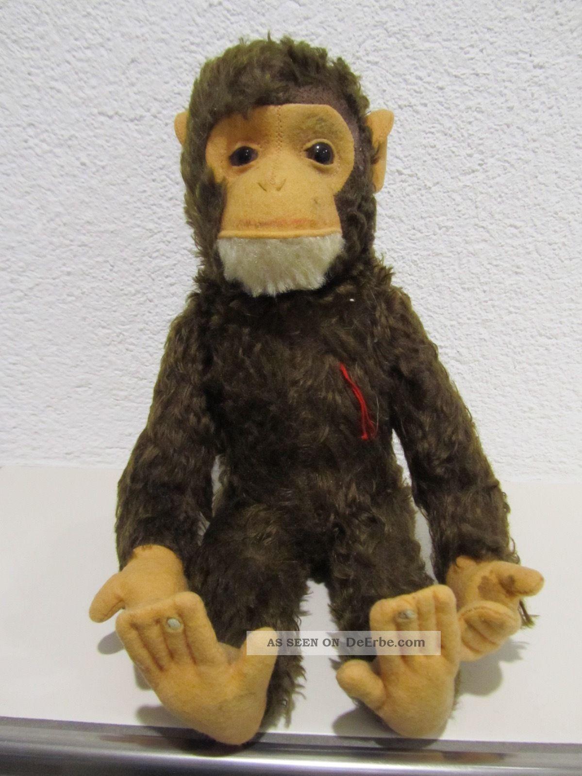 Schuco Affe Schimpanse,  Yes - No - Funktion,  34 Cm Stofftiere & Teddybären Bild