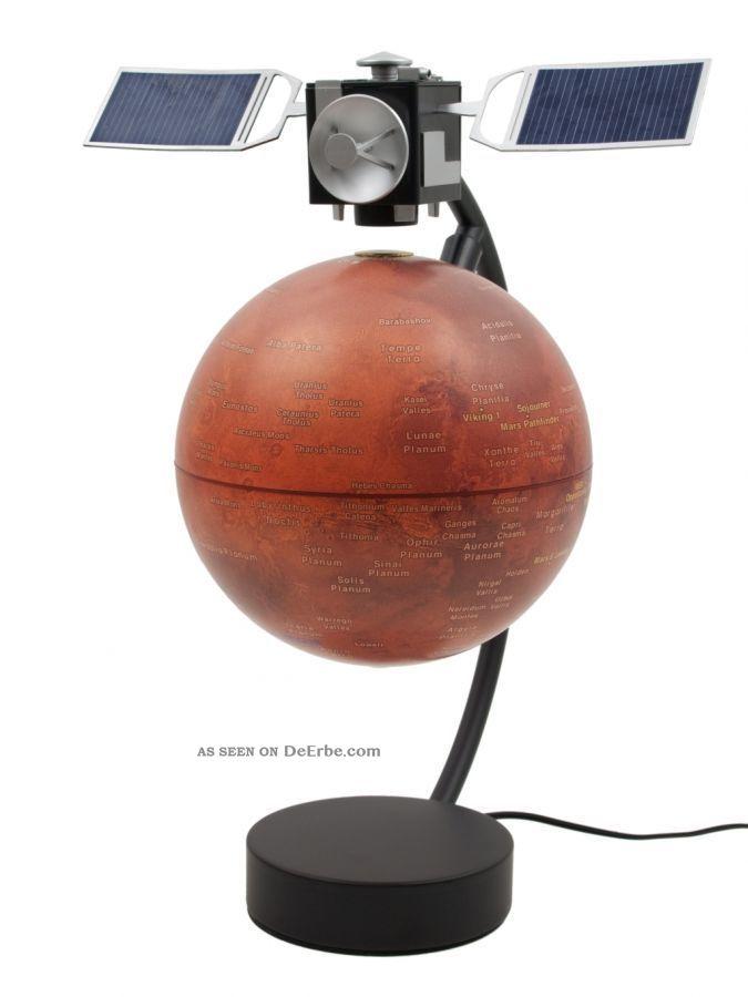 Stellanova Mars Globus 15cm Magnet Schwebeglobus Magnetglobus Design Objekt Wissenschaftliche Instrumente Bild