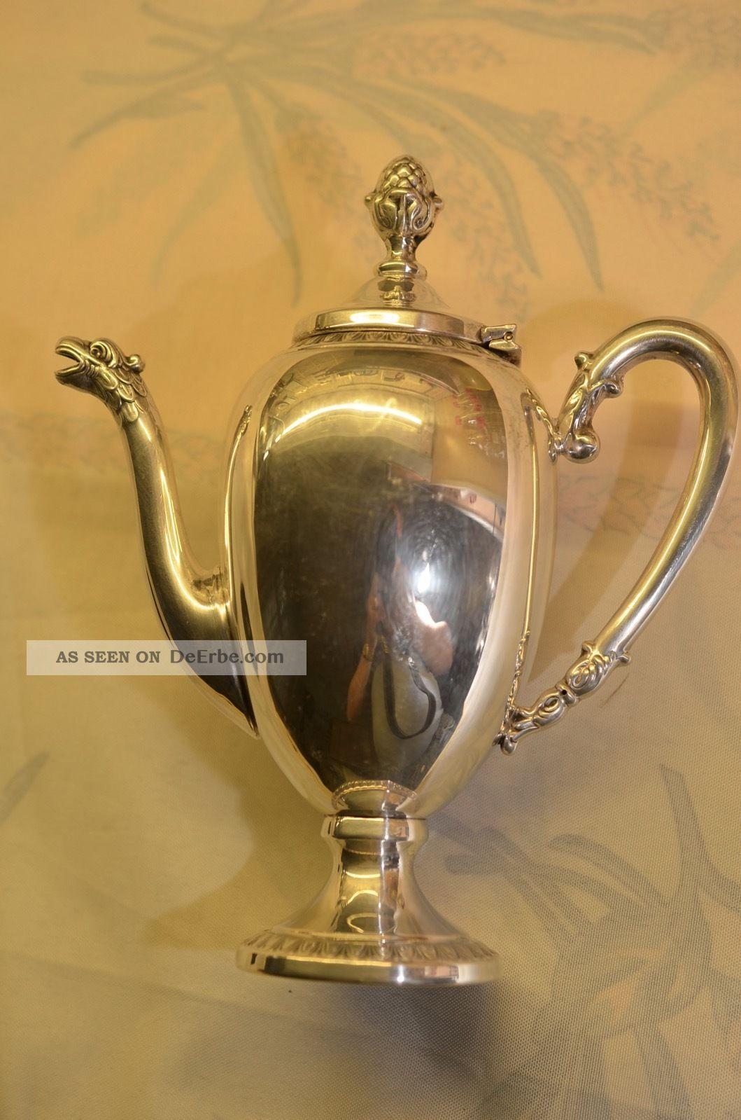 Schöne Silberkanne Silber 800 Objekte vor 1945 Bild