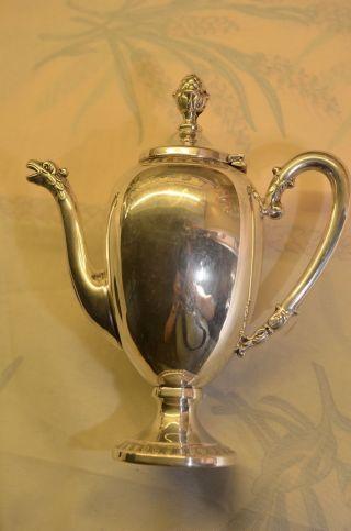 Schöne Silberkanne Silber 800 Bild