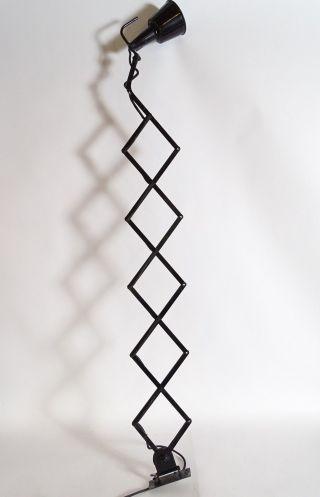 Riesige Art Déco Bauhaus Industrie Design Scherenlampe Wandlampe Top Bild