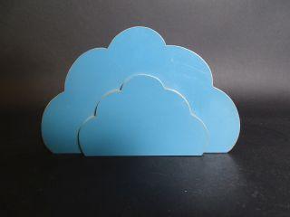 Erzgebirge Holz Wolke Wolkenpaar Für Engel Putten Engelfigur Zubehör Bild