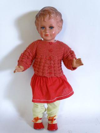 Antike Große Schildkröt 64cm Puppe Mit Passender Kleidung Bild
