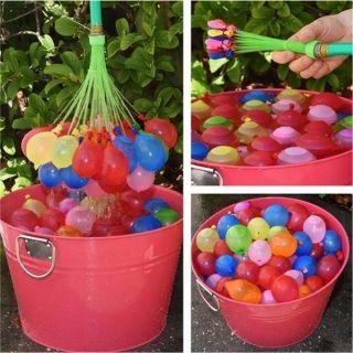 111pcs Zauberei Wasser Luftballons Bomben Spielzeug Kinder Garten Spiel Bild