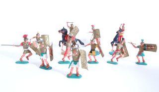 Großes Konvolut Timpo Toys Römer Krieger Raritäten Seltene Varianten Bild