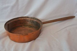 Antik Kupfer Topf Kasserole Stieltopf Bild