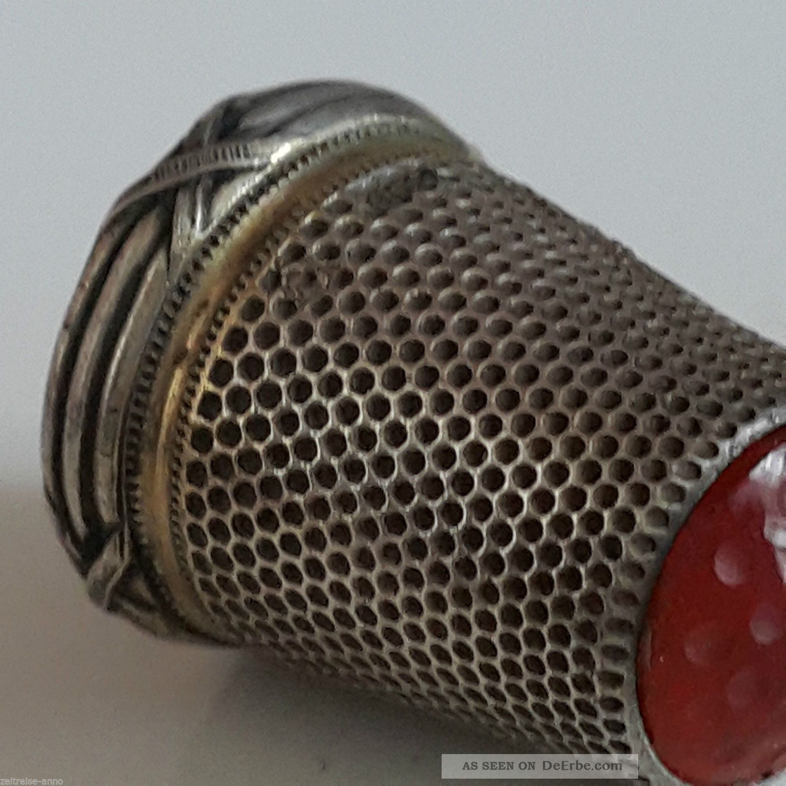 KORBOND Fingerhut und Nadeleinf/ädler Silber 36