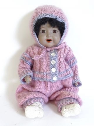 Simon Halbig Porzellankopf Puppe 126 Ger 04 Sammlerpuppe Ca.  35 Cm Bild