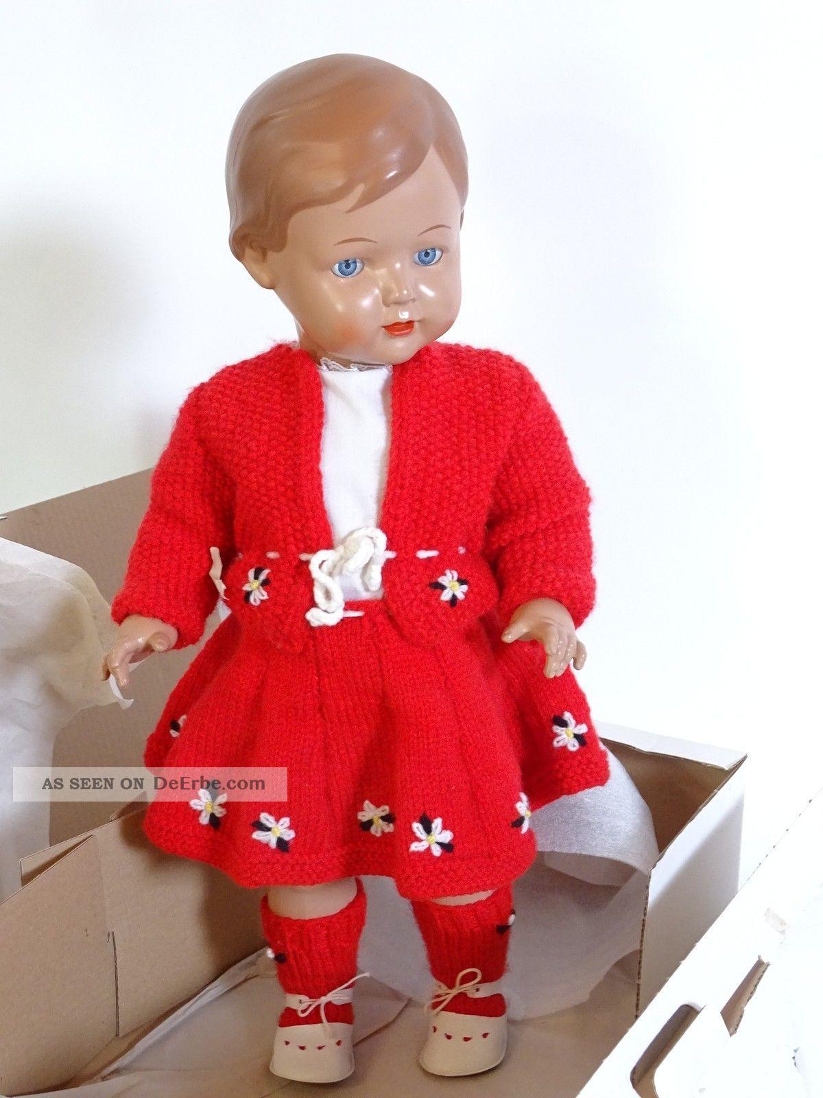 ältere Schildkröt Puppe Rep 56 Inkl. Roter Kleidung Und ...