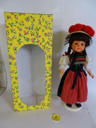 Hwe Wilhelm Große Trachten Puppe Handarbeit Ca.  60 Cm Weiblich Bild
