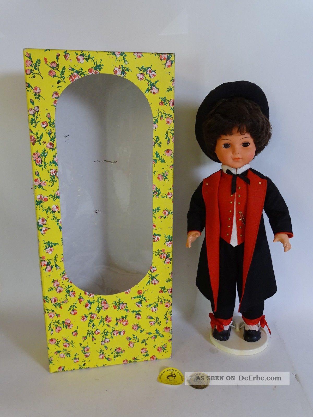 Hwe Wilhelm Große Trachten Puppe Handarbeit Ca.  60 Cm Männlich Puppen & Zubehör Bild
