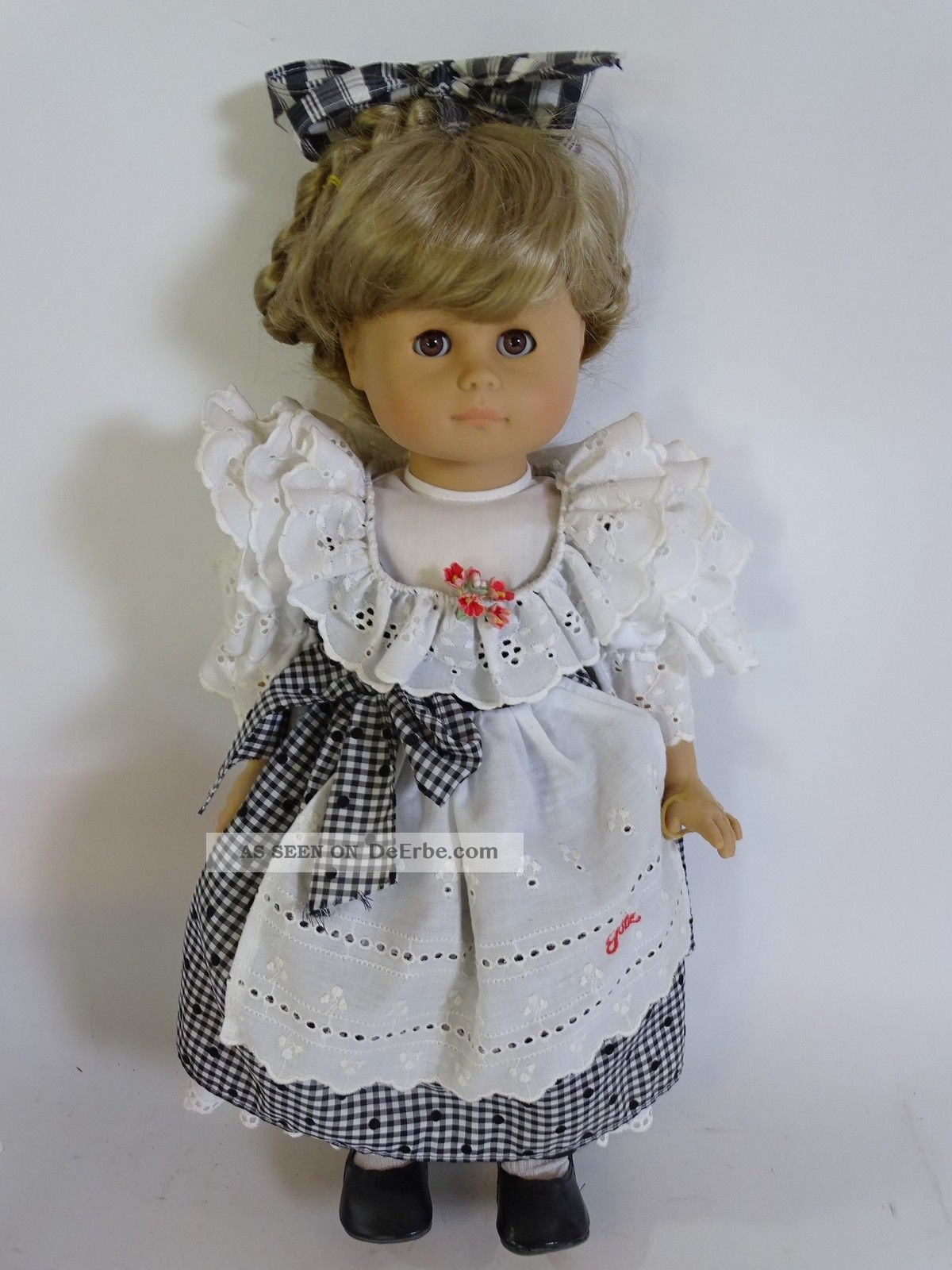 GÖtz Puppe Mädchen Mit Götz Kleidung Ca.  45 Cm Inkl.  Ovp Puppen & Zubehör Bild