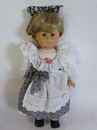 GÖtz Puppe Mädchen Mit Götz Kleidung Ca.  45 Cm Inkl.  Ovp Bild