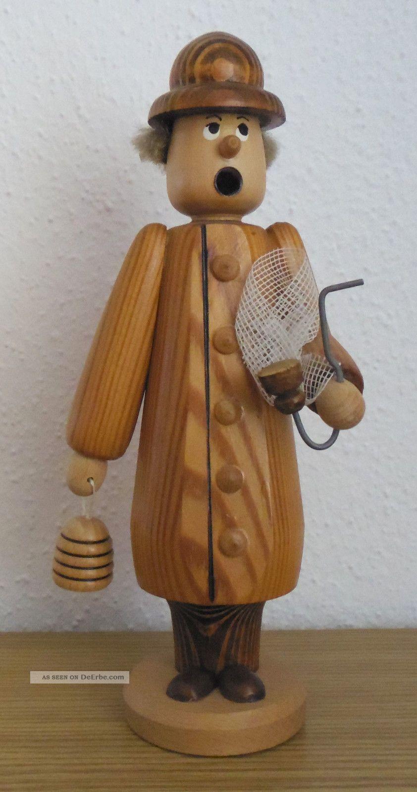 Räuchermännchen - Räucherfigur - Imker - Erzgebirge Objekte nach 1945 Bild