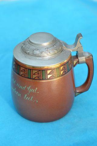 Alter Sammlerkrug Julius Paul Bunzlau Keramik 1920/1930 Bild