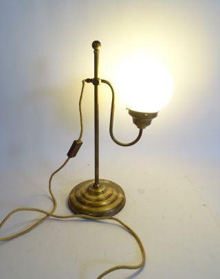 Wunderschöne Shabby Chic Kugellampe Nachttischlampe Im Antikstil Bild