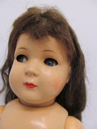 Ens62969 Ältere Kunststoff Kopf Puppe K & W H:ca.  51cm,  Hm:k & W 242/51, Bild