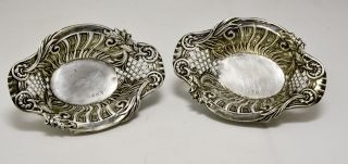 2 Antike Silberne KÖrbchen Bild