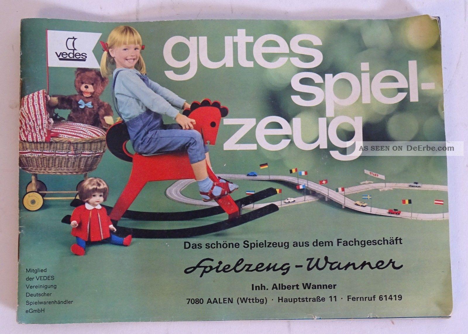 orig vedes spielzeug wanner katalog 1966 lego faller schuco matchbox m rklin. Black Bedroom Furniture Sets. Home Design Ideas