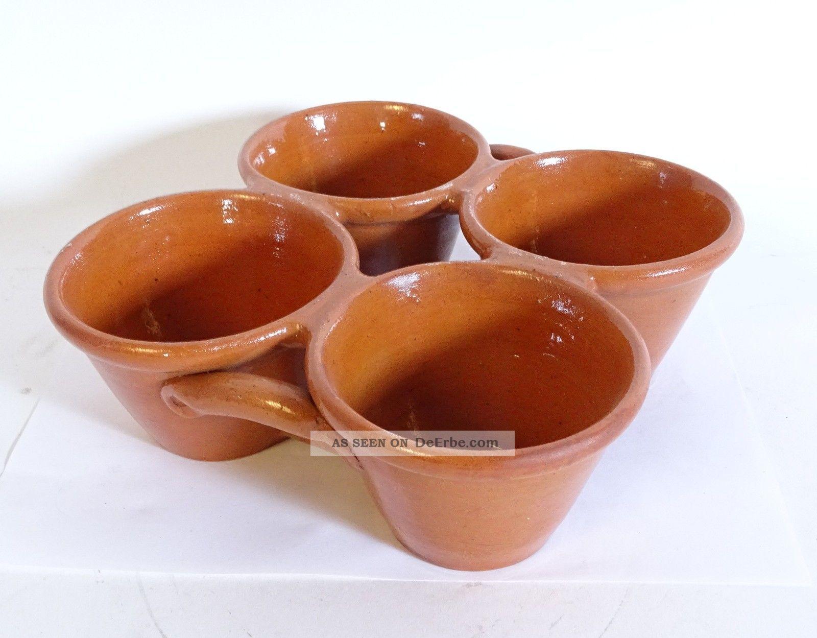 ältere 4er Pfitzauf Form Muffin Form 4er Block Keramik Größe 23 X 23 Cm Haushalt Bild