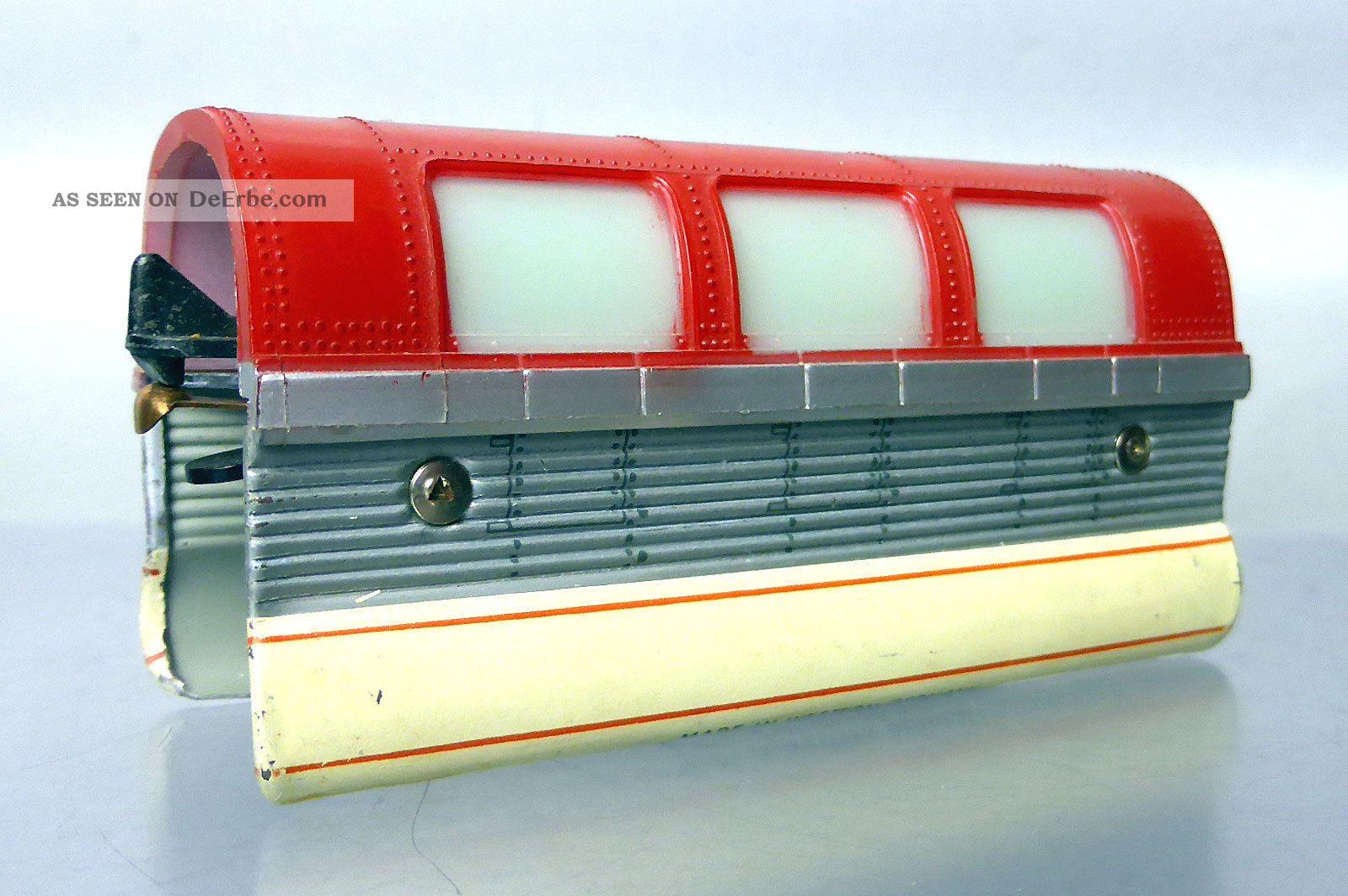 Schuco Monorail 6333/0/2; Mittelwagen Rot - Beige /d625 Original, gefertigt 1945-1970 Bild
