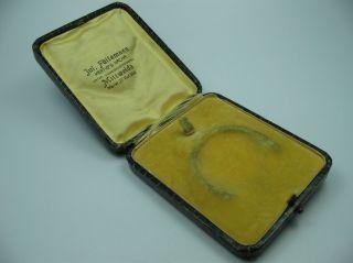 Jul.  Füllemann Mittweida Seltene Alte Taschenuhrbox Taschenuhretui Bild