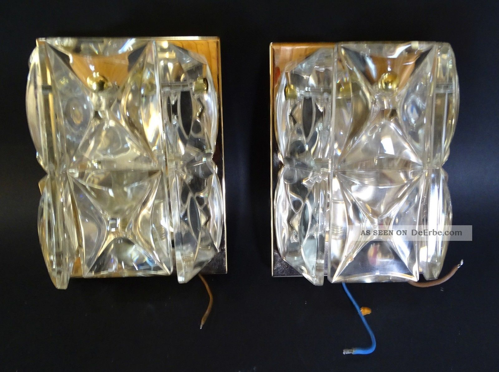 Paar hochwertige dickwandige 50er jahre design for Lampen 50er design
