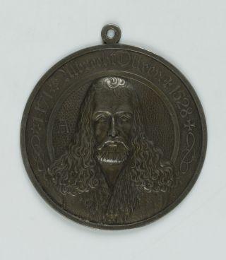 Albrecht Dürer Plakette,  Messing (?) Bild