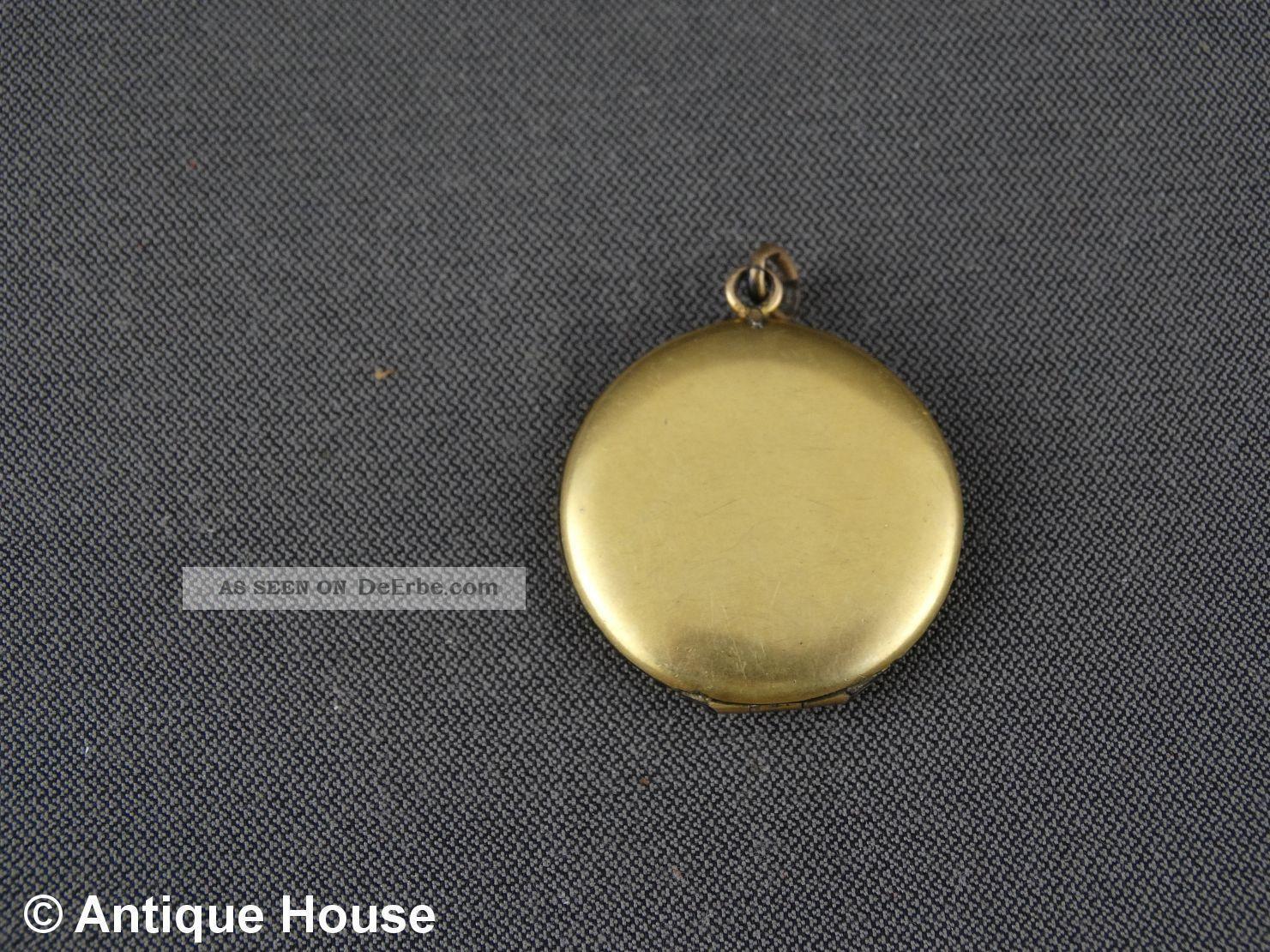 Jugendstil kettenanh nger dublee medaillon ornament rote for Rote ziersteine