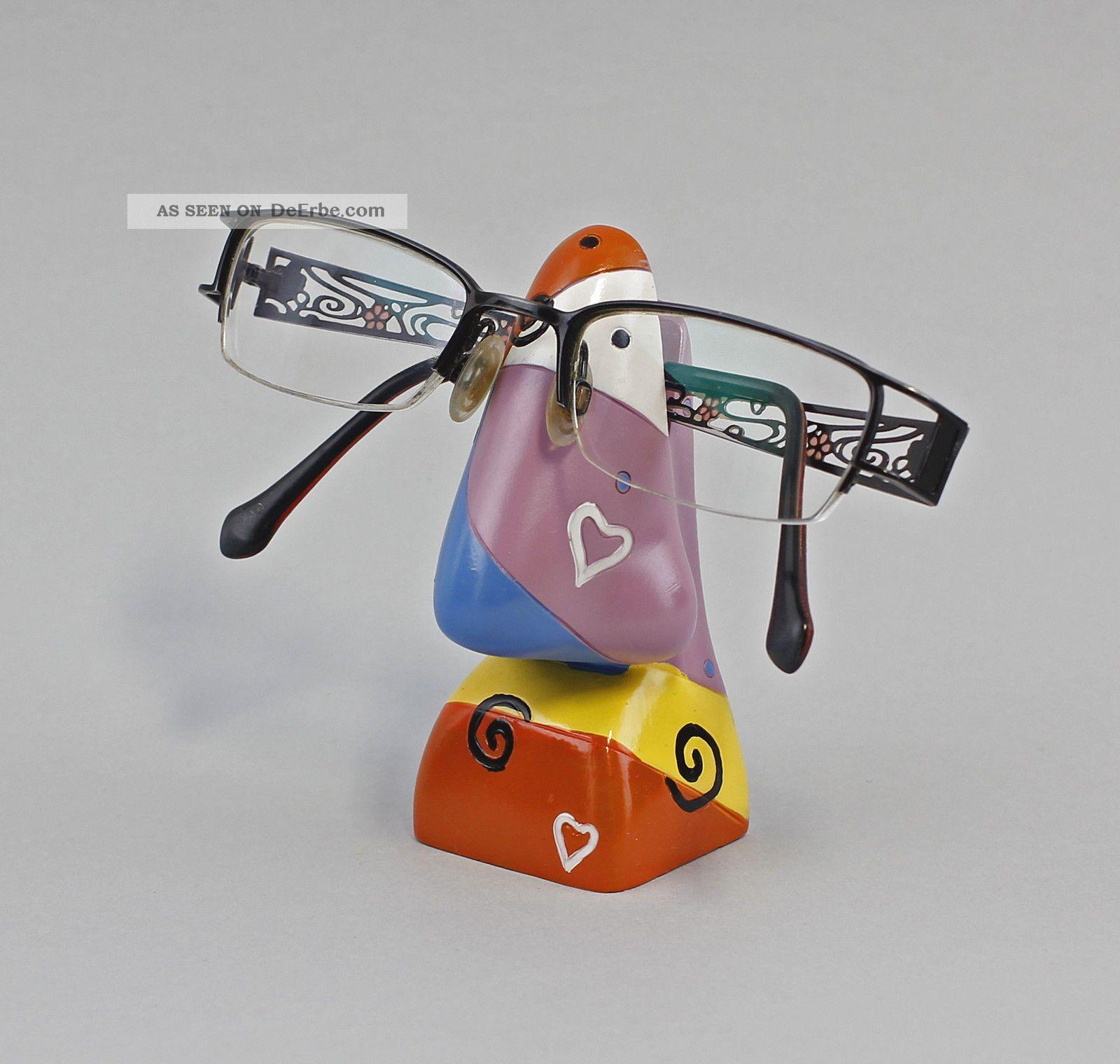 36106 Brillen - Halter Brillen - Ständer Brillenhalter Nase Bunt Ab 2000 Bild