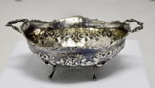 Antike Silberne Henkelschale Bild
