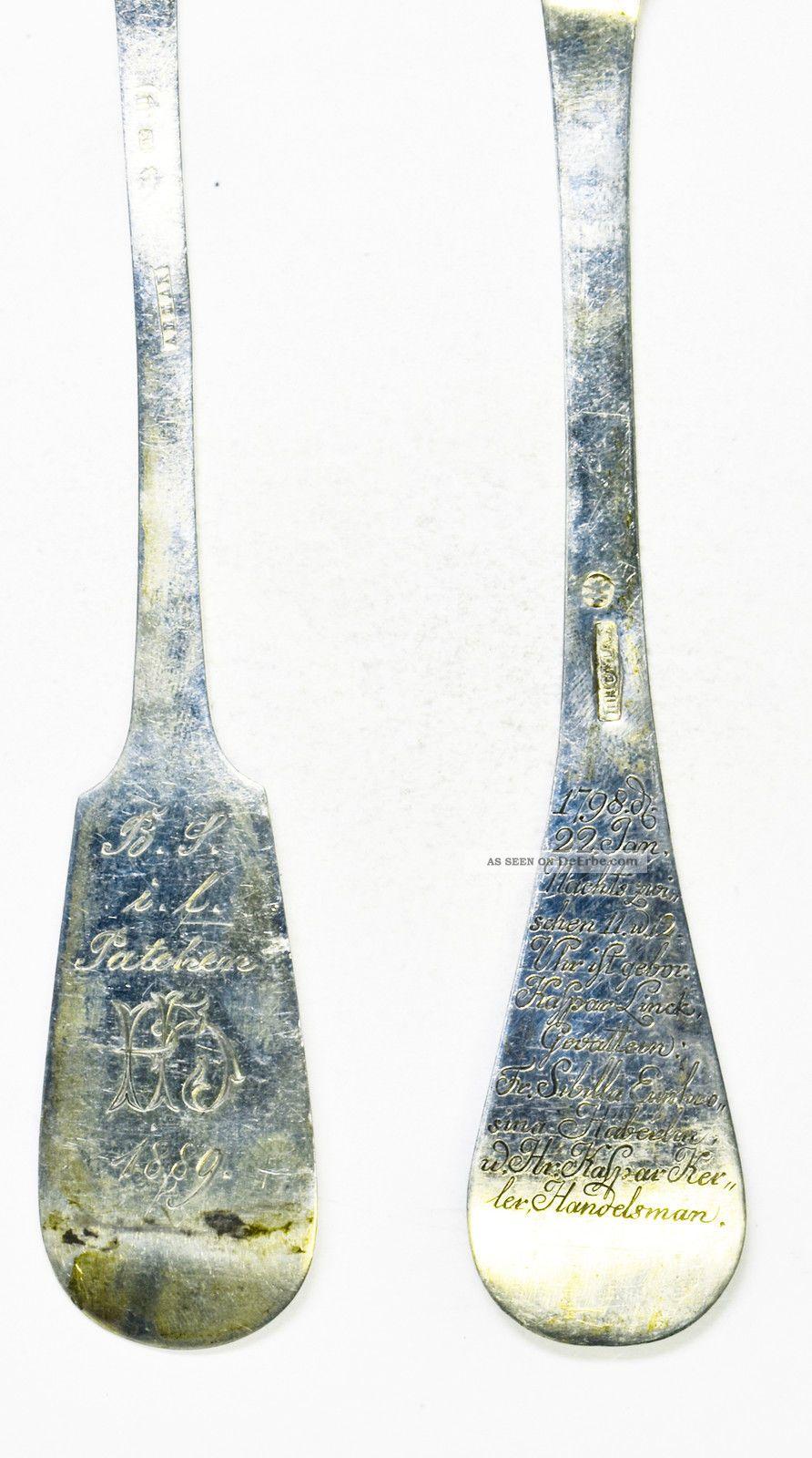 Antike Patengeschenke Von 1798 Und 1889 Objekte vor 1945 Bild
