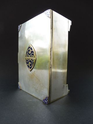 Secession Wien Jugendstil Moritz Hacker Email Dose Box Art Nouveau Enamel Emblem Bild