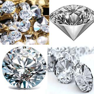 7200x 4mm Acryl Kristall Diamant Konfetti Tisch Scatter Clear Vase Filler Dekor Bild
